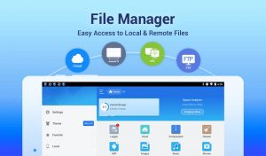 file manager which is easy to access to local and remote files
