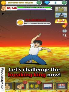 hand, orange, lets challenge the breaking king now