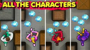 use all the characters in hunter assassin mod apk