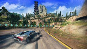 asphalt 8 mod playing screenshot