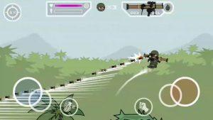 Mini Militia mod has unlimited bullets