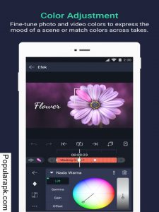 adjust colors easily using the no water mark in app