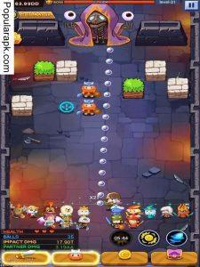 Launch Hero mod apk- player screen