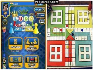 comparison of digital boards and paper board of ludo game.