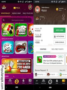 Download Winzo Gold mod apk and earn money