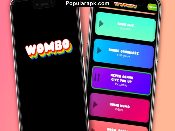 wombo mod apk logo