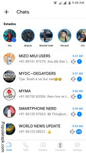 chat with anyone using better themes in YCWhatsapp mod apk