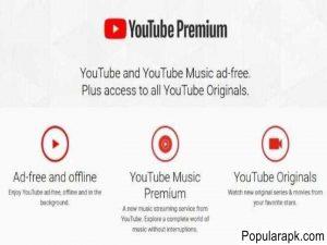 ad free and offline, youtube music premium, youtube originals