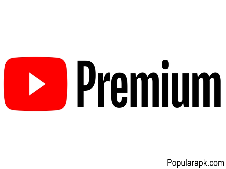 Youtube Premium intro screen