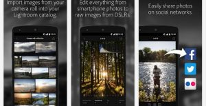 import images, edit photos, share photos with adobe lightroom mod apk