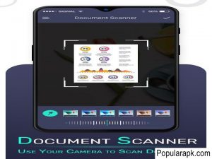 document scanner, use your camera to scan documents in camscanner pro