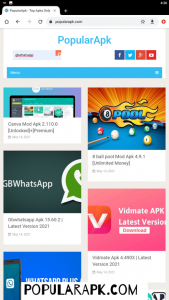 see the list of mod apps available after you search
