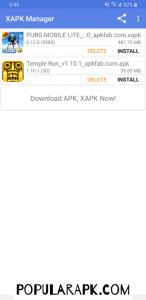 download XAPK manager to install xapk files easily from our popularapk.com guide