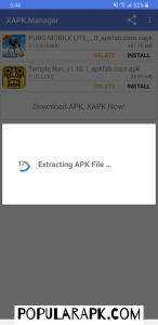 extracting apk file while youlearn how to install apk guide