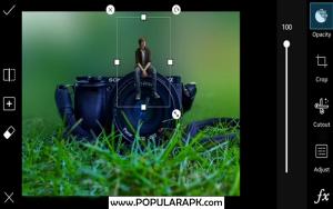Picsart mod apk - layer wise editing,