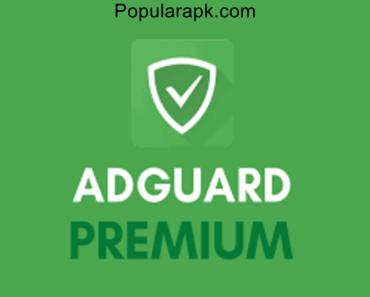 Adguard premium apk cover image.