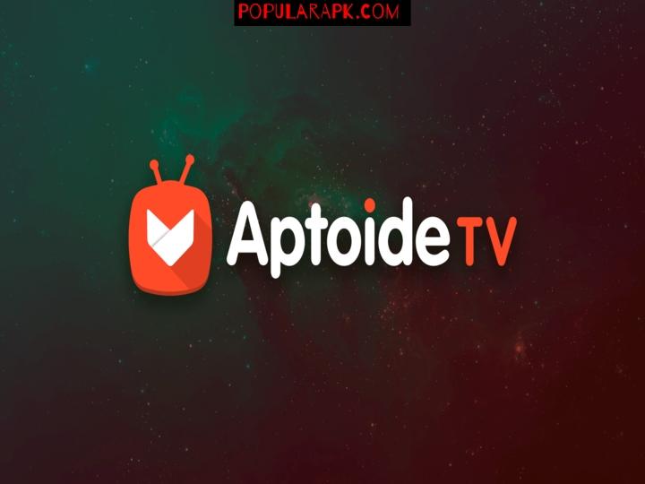 AptoideTV mod apk logo.