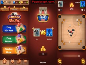 play disc pool and carrom pool with this mod apk and win easy.