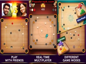 real time multiplayer, different game modes, play with friends.