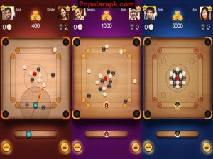 play carrom with unlimited coins.