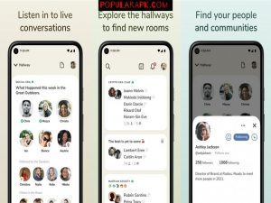 listen to live converations with the latest clubhouse mod apk.