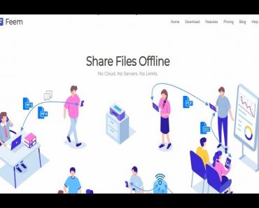 share files offline with Feem mod apk