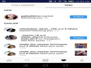 you can see more then who is following you