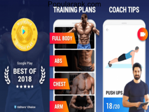 customized training plans in home workout app