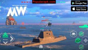 get modern warships mod apk for free on populrapk.com