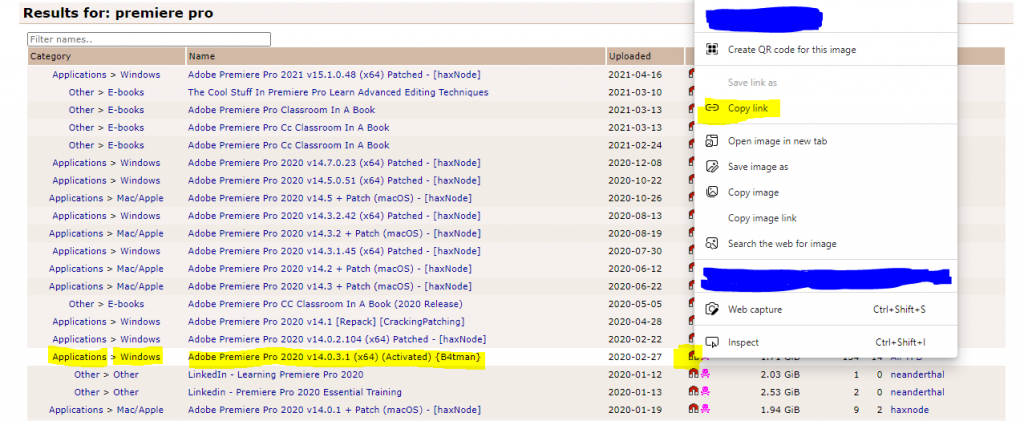 how to copy torrent links with magnet links and use them to download files via torrent.