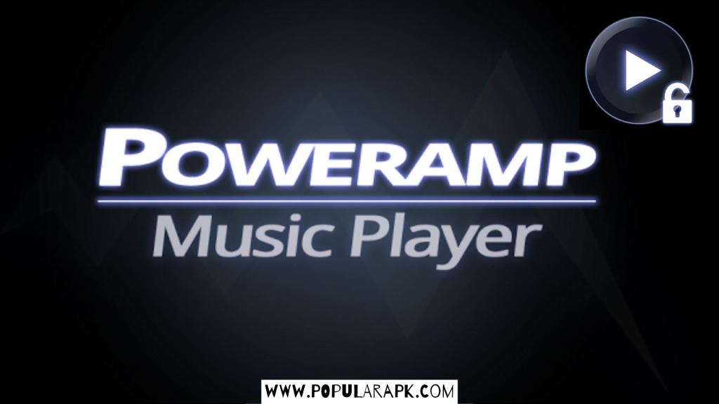 poweramp music player mod apk cover photo.