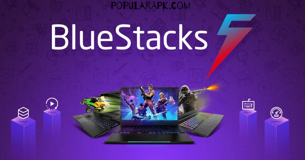 use bluestacks to play games on high end hardware pc