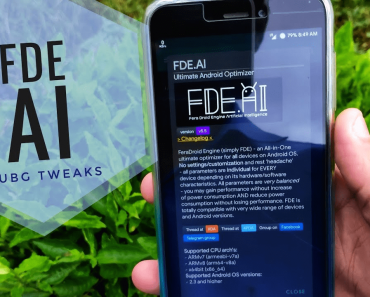 FDE AI lets you tweak settings for games and stuff. Cover photo.