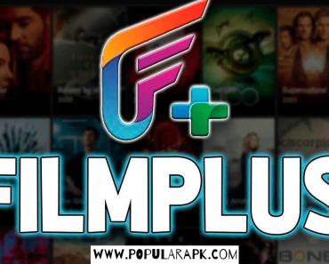 Latest Filmplus apk cover photo.
