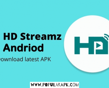 HD streamz android latest apk cover photo