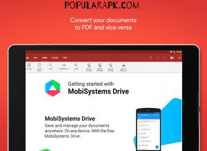Officesuite Pro Mod Apk has drive space.