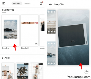 use templates to create awesome stories. This is an amazing insta story maker.