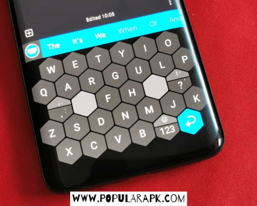 Typewise Mod Apk with new honeycomb design.