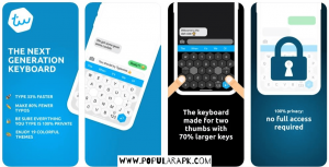 multi functions one typing keyboard app with privacy inbuilt.