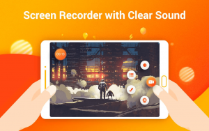 the sound recorded with the app is very clear