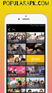viu is a korean drama streaming app.