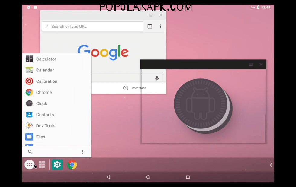 install android os for stock android on PC