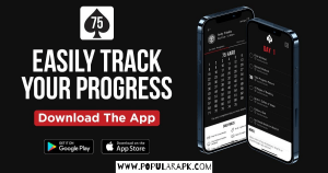 easily track progress with the app.