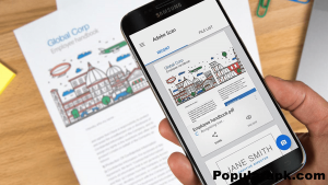 The adobe scan mod apk is one of the most easy to use and famous document scanning apps