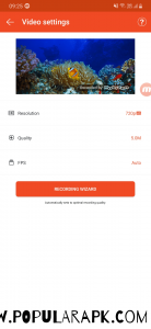 Mobizen mod apk may be the only app in the market which runs on low end devices very smoothly.