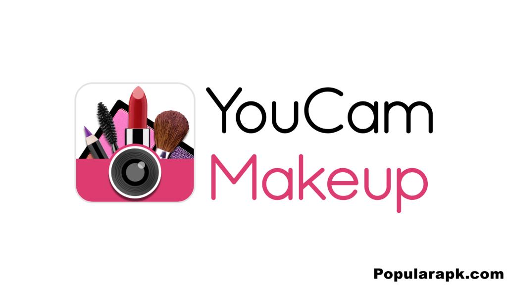 YouCam Makeup mod apk logo.