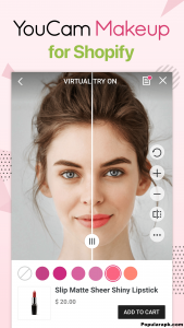 With YouCam Makeup you are getting the full featured live beauty cam which captures the charming selfies for you