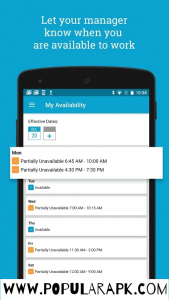 hotschedules mod apk - availability details in apps.