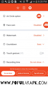 This is one of the most revered features of mobizen premium apk.