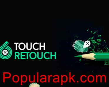 TouchRetouch mod apk logo with cover